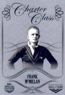 2018 NRL Glory Hall of Fame Charter Class Chrome CCC19 Frank McMillan