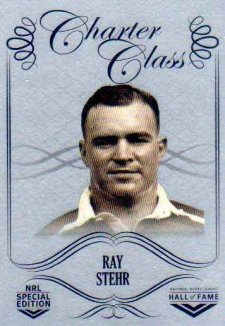 2018 NRL Glory Hall of Fame Charter Class Chrome CCC30 Ray Stehr