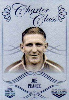 2018 NRL Glory Hall of Fame Charter Class Chrome CCC31 Joe Pearce