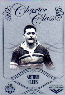 2018 NRL Glory Hall of Fame Charter Class Chrome CCC41 Arthur Clues