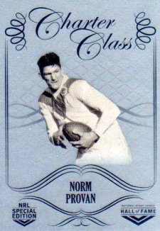 2018 NRL Glory Hall of Fame Charter Class Chrome CCC48 Norm Provan