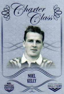 2018 NRL Glory Hall of Fame Charter Class Chrome CCC59 Noel kelly