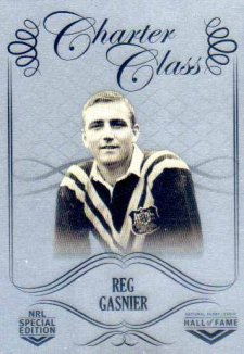 2018 NRL Glory Hall of Fame Charter Class Chrome CCC62 Reg Gasnier