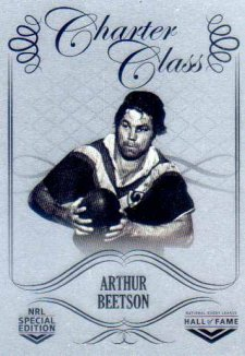 2018 NRL Glory Hall of Fame Charter Class Chrome CCC72 Arthur Beetson