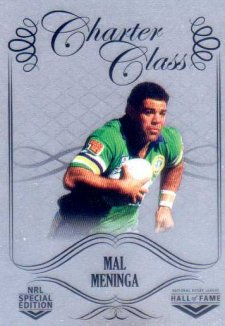 2018 NRL Glory Hall of Fame Charter Class Chrome CCC80 Mal Meninga