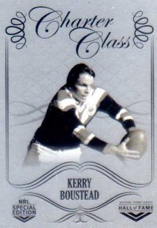 2018 NRL Glory Hall of Fame Charter Class Chrome CCC81 Kerry Boustead