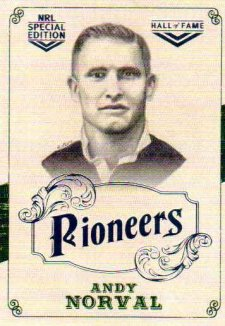 2018 NRL Glory Pioneers Sketch PS37 Andy Norval