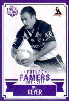 2018 NRL Glory Future Famers FF13 Matt Geyer Storm