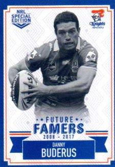 2018 NRL Glory Future Famers FF15 Danny Buderus Knights