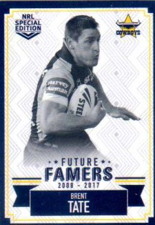 2018 NRL Glory Future Famers FF18 Brent Tate Cowboys