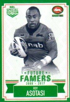 2018 NRL Glory Future Famers FF23 Roy Asotasi Rabbitohs