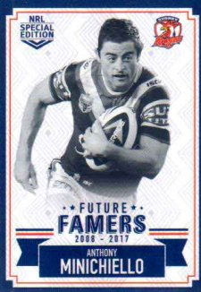 2018 NRL Glory Future Famers FF28 Anthony Minichiello Roosters2018 NRL Glory Future Famers FF28 Anthony Minichiello Roosters