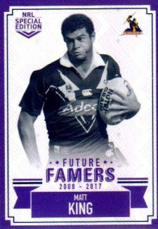 2018 NRL Glory Future Famers FF14 Matt King Storm