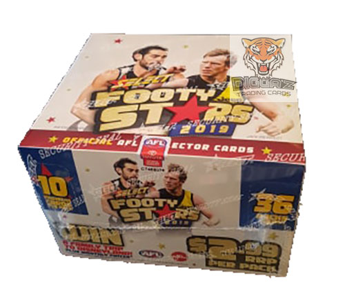 2019 AFL Footy Stars Sealed Box