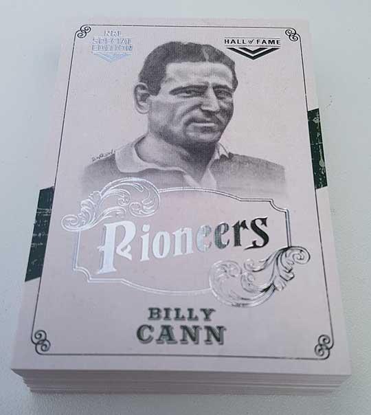 2018 NRL Glory Pioneers Sketch Complete 38-Card Insert Set
