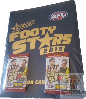2019 Select AFL Footy Stars New Folder / Album