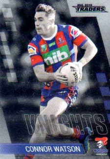 2019 NRL Traders Platinum Parallel PS80 Connor Watson Knights