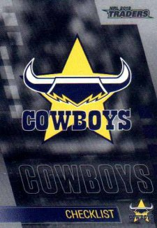 2019 NRL Traders Platinum Parallel PS81 Cowboys Checklist
