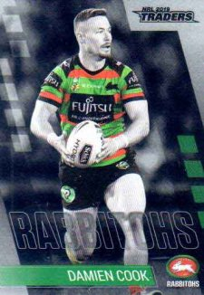 2019 NRL Traders Platinum Parallel PS115 Damien Cook Rabbitohs