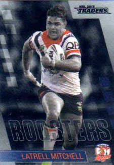 2019 NRL Traders Platinum Parallel PS137 Latrell Mitchell Roosters
