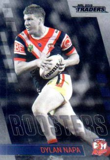 2019 NRL Traders Platinum Parallel PS138 Dylan Napa Roosters