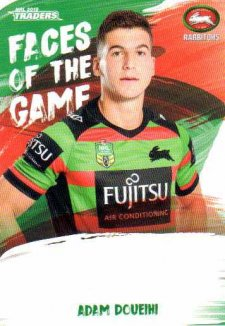 2019 NRL Traders Faces of the Game FG45 Adam Doueihi Rabbitohs