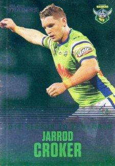 2019 NRL Traders Season to Remember SR4 Jarrod Croker Raiders