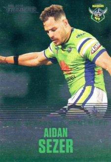 2019 NRL Traders Season to Remember SR5 Aidan Sezer Raiders
