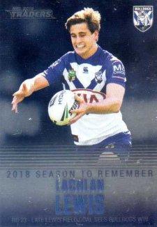 2019 NRL Traders Season to Remember SR9 Lachlan Lewis Bulldogs