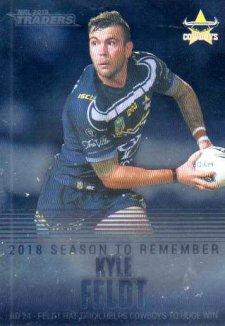 2019 NRL Traders Season to Remember SR25 Kyle Feldt Cowboys