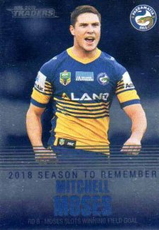 2019 NRL Traders Season to Remember SR29 Mitchell Moses Eels