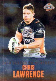 2019 NRL Traders Season to Remember SR46 Chris Lawrence Tigers