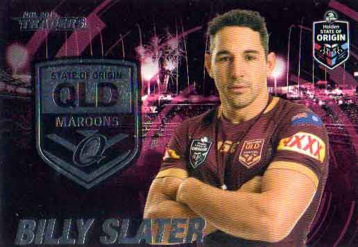 2019 NRL Traders State of Origin Stars SOO42 Billy Slater QLD