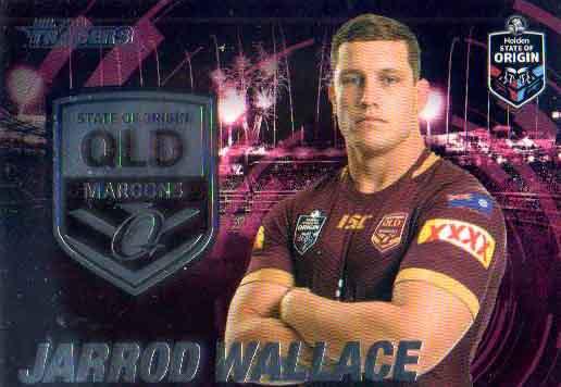 2019 NRL Traders State of Origin Stars SOO43 Jarrod Wallace QLD