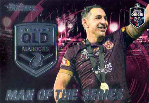 2019 NRL Traders State of Origin Stars SOO44 Billy Slater Man of the Series QLD