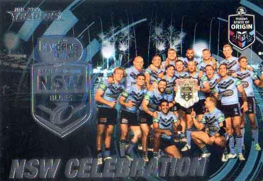 2019 NRL Traders State of Origin Stars SOO45 Celebration NSW