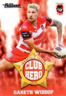 2019 NRL Traders Club Hero CH26 Gareth Widdop Dragons