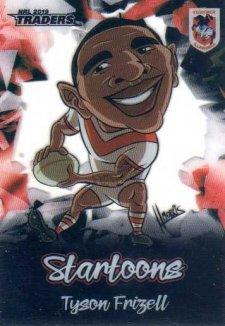 2019 NRL Traders Startoons ST15 Tyson Frizell Dragons