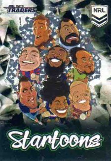 2019 NRL Traders Startoons Black SBA5 Group A Header Card