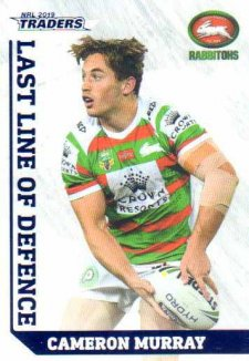 2019 NRL Traders Last Line of Defence LD24 Cameron Murray Rabbitohs