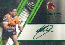 2019 NRL Traders Authentic Emerald ASE17 Andrew McCullough Broncos