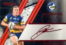 2019 NRL Traders Authentics Ruby Album Card ASR18 Daniel Alvaro Eels