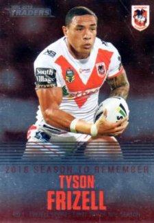 2019 NRL Traders Season to Remember SR37 Tyson Frizell Dragons