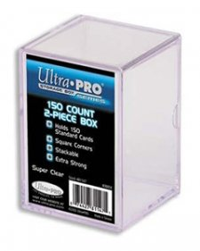 Ultra Pro 2 Piece 150-Count Card Storage Box