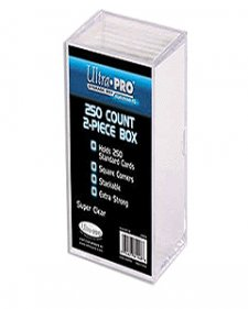 Ultra Pro 2 Piece 250-Count Card Storage Box