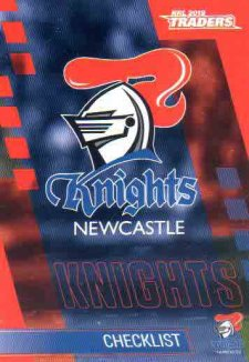 2019 NRL Traders 10-Card Base Team Set Newcastle Knights
