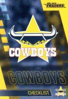 2019 NRL Traders 10-Card Base Team Set North Queensland Cowboys