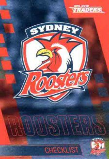 2019 NRL Traders 10-Card Base Team Set Sydney Roosters