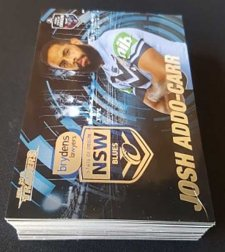 2019 NRL Traders State of Origin Complete 45-Card Insert Set