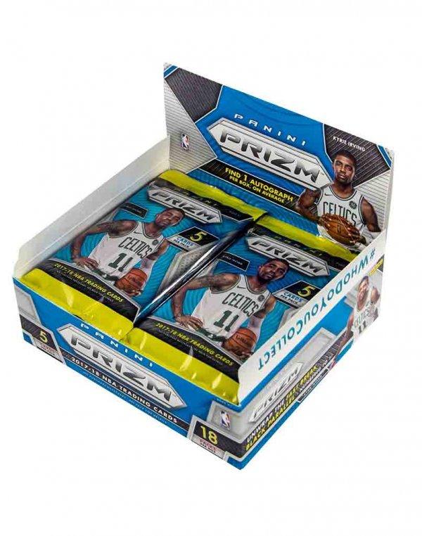 2017/18 Panini NBA Basketball Prizm Fast break Box